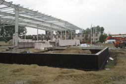 budowa obiektu - hala produkcyjno-magazynowa, dla Arsanit, Konin, woj. wielkopolskie