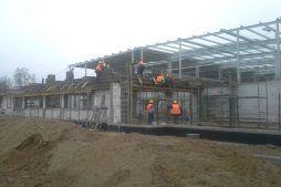 budowa części biurowej - hala produkcyjna z budynkiem biurowym, dla LÜTTGENS, Nielbark, woj. warmińsko-mazurskie