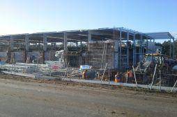 prace budowlane - hala produkcyjna z budynkiem biurowym, dla LÜTTGENS, Nielbark, woj. warmińsko-mazurskie
