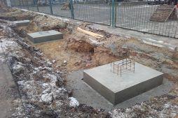 stopa fundamentowa - hala produkcyjno-magazynowa, dla Złotniki, Wrocław, woj. dolnośląskie