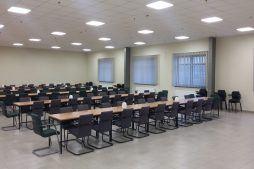 pomieszczenie konferencyjne - hala usługowo-magazynowa, dla Nafa, Łozienica, woj. zachodniopomorskie