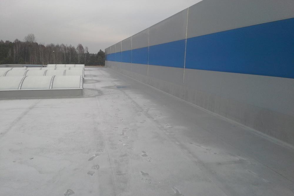 zadaszenie obiektu - hala produkcyjna z budynkiem biurowym, dla LÜTTGENS, Nielbark, woj. warmińsko-mazurskie