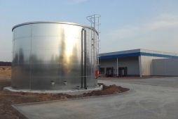 silos - hala produkcyjna z budynkiem biurowym, dla LÜTTGENS, Nielbark, woj. warmińsko-mazurskie