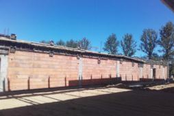 szalowanie elementów żelbetowych ściany pożarowej-hala magazynowa z częścią socjalno-biurową, AMP Polska, Częstochowa, woj. ślaskie