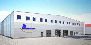 Hala produkcyjna i magazyn dla firmy Mardom