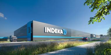 Magazyn w generalnym wykonawstwie dla firmy Indeka Logistic City Sp. z o.o.