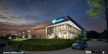 Budowa hali produkcyjno-magazynowej dla Visser Real Estate Poland