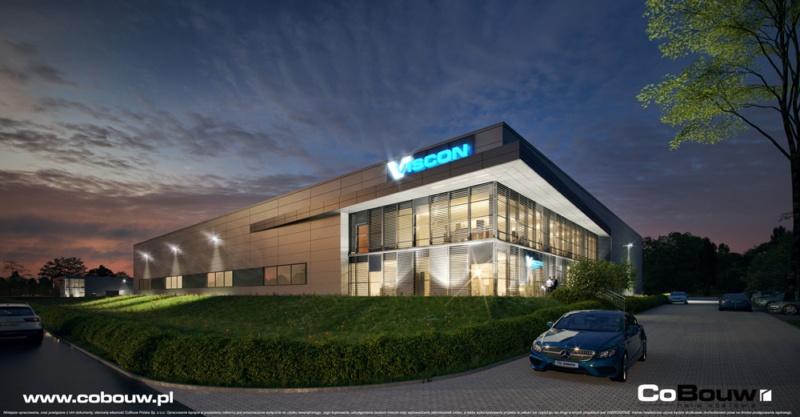Budowa hali dla Viscon Real Estate Poland