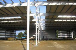 konstrukcja stalowa - centrum logistyczne z budynkiem biurowym, dla Schavemaker, Kąty Wrocławskie