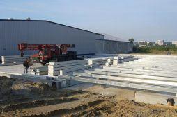 elementy konstrukcji stalowej - rozbudowa hali produkcyjnej, dla OML Morando, Czerwionka-Leszczyny