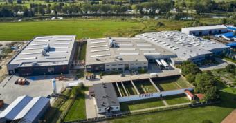 zakład produkcyjno-magazynowy Addit w Węgrowie - czwarta inwestycja przemysłowa, dla firmy z branży metalowej, w woj. mazowieckim, generalne wykonawstawo CoBouw Polska