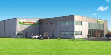 Budowa hali dla holenderskiej firmy Agrarada
