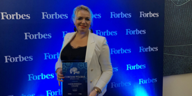 Aldona Amsing, Współwłaściciel CoBouw Polska z dyplomem laureata - Forum Firm Rodzinnych Forbes, edycja 2019, Fabryka Wełny, Pabianice