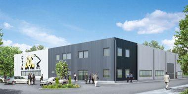 Budowa hali dla holenderskiej firmy BAC Investment sp.zo.o.