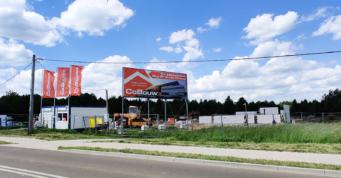 teren budowy inwestycji dla Big Brands Group - magazyn dla firmy z branży handlowej, Bukówka Stara, woj. mazowieckie