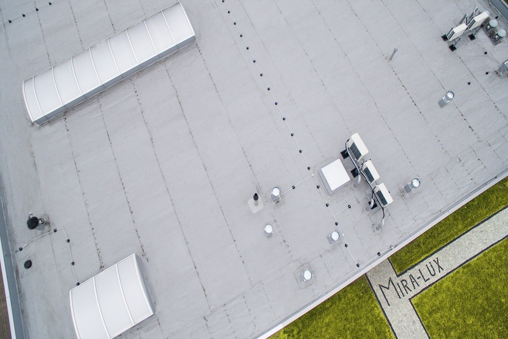 instalacje klimatyzacyjne - hala magazynowa, Firma MIRA-LUX, Klaudyn
