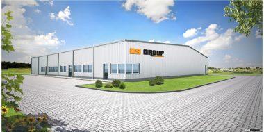 Budowa hali produkcyjno-magazynowej dla firmy DS Group