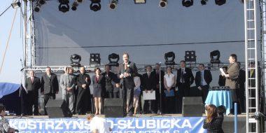 Wmurowanie kamieni węgielnych pod budowę Bonar Plastics Polska i Jan