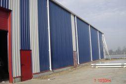 ściana boczna - hala produkcyjna, dla Flevoplant, Gościm, woj. lubuskie