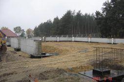 plac budowy - hala produkcyjna, dla Janssen, Konin, wielkopolskie