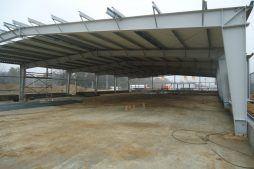 konstrukcja blachownicowa 1 - hala produkcyjna z częścią biurową, dla BioMaxima, Lublin, woj. lubelskie