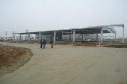 widok ogólny 5 - hala produkcyjna z częścią biurową, dla BioMaxima, Lublin, woj. lubelskie