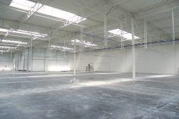 prace wykończeniowe na hali 1 - hala produkcyjno-magazynowa, dla Hutchinson, Łódź, woj. łódzkie