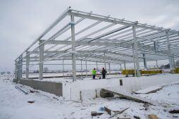 prace budowlane 2 - hala produkcyjna, dla DS Group, Szadek, woj. łódzkie