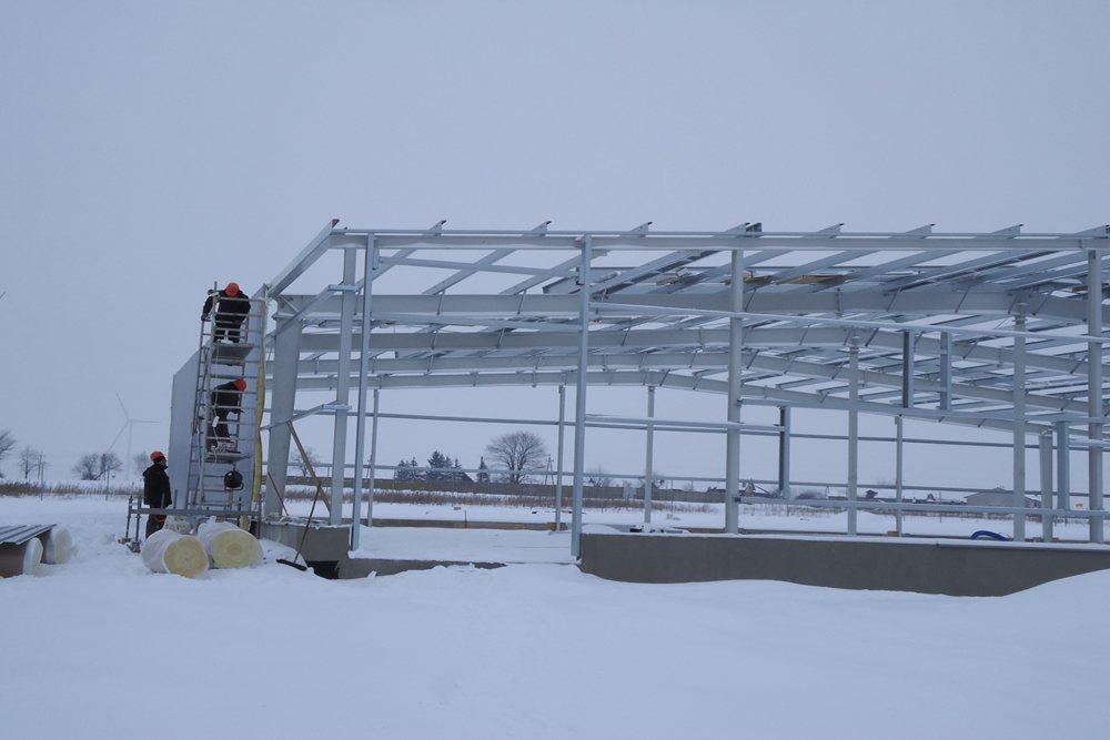prace budowlane 1 - hala produkcyjna, dla DS Group, Szadek, woj. łódzkie