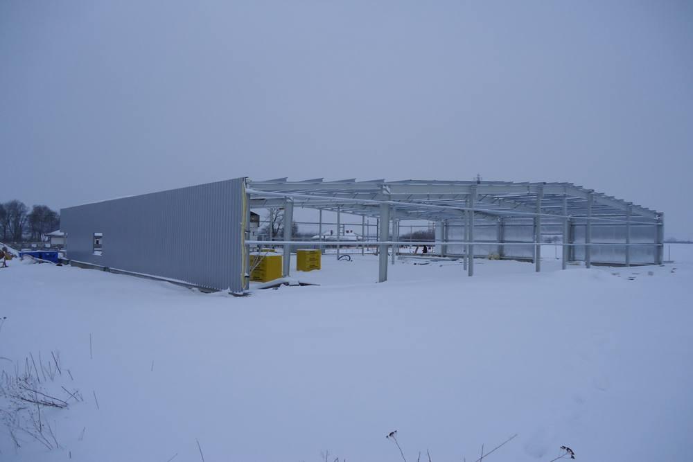 obiekt w trakcie budowy - hala produkcyjna, dla DS Group, Szadek, woj. łódzkie