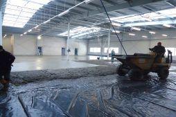 wylewka podłogowa 1 - hala produkcyjna, dla DS Group, Szadek, woj. łódzkie