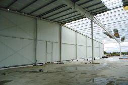 pokrycie dachu - hala produkcyjna, dla Pilawa, Kołobrzeg, woj. zachodniopomorskie