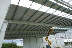 pokrycie dachu 1 - hala produkcyjna, dla Pilawa, Kołobrzeg, woj. zachodniopomorskie