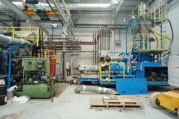 zaplecze technologiczne - hala produkcyjno-magazynowa z częścią biurową, dla Ergis, Wąbrzeźno, woj. kujawsko-pomorskie