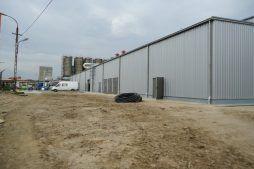 teren przed inwestycją 1 - hala produkcyjno-magazynowa z częścią biurową, dla Ergis, Wąbrzeźno, woj. kujawsko-pomorskie