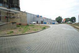 teren przed inwestycją 4 - hala produkcyjno-magazynowa z częścią biurową, dla Ergis, Wąbrzeźno, woj. kujawsko-pomorskie