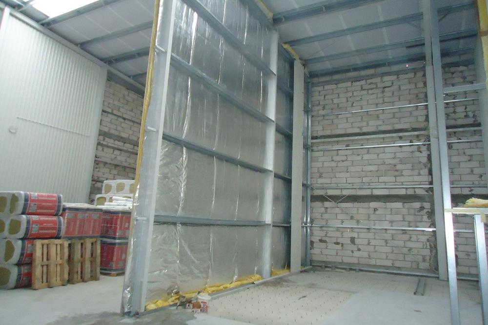 technologia blacha – wełna – blacha - hala produkcyjna, dla Poleko, Nowy Dwór Mazowiecki