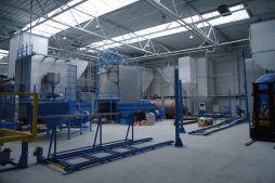 zaplecze technologiczne 3 - hala produkcyjna z częścią biurową, dla Arsanit, Konin, woj. wielkopolskie