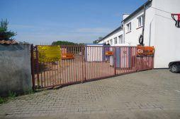 brama wjazdowa 1 - hala produkcyjna z częścią socjalną, dla Marva International, Poznań, woj. wielkopolskie