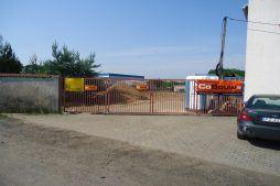 brama wjazdowa 2 - hala produkcyjna z częścią socjalną, dla Marva International, Poznań, woj. wielkopolskie