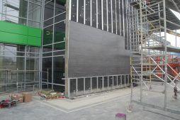 montaż paneli - hala magazynowa z budynkiem biurowym, dla Koesters & Meyer, Malanów