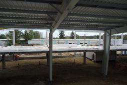 konstrukcja blachownicowa 1 - hala produkcyjna z częścią socjalną, dla Marva International, Poznań, woj. wielkopolskie