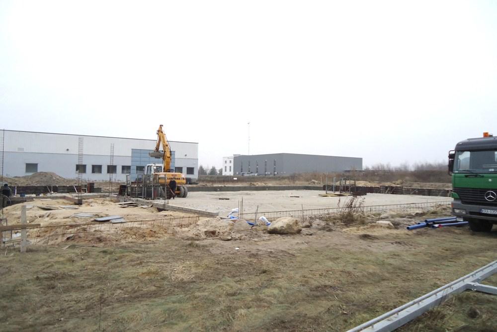 teren pod budowę - hala magazynowa, Firma MIRA-LUX, Klaudyn, woj. mazowieckie