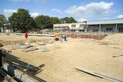 prace budowlane - hala produkcyjna z częścią socjalno-biurową, dla Danmar, Łódź, woj. łódzkie