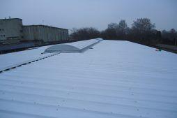 świetlik dachowy - hala produkcyjna z częścią socjalno-biurową, dla Danmar, Łódź, woj. łódzkie