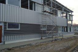 montaż okien - hala produkcyjna z częścią socjalno-biurową, dla Danmar, Łódź, woj. łódzkie