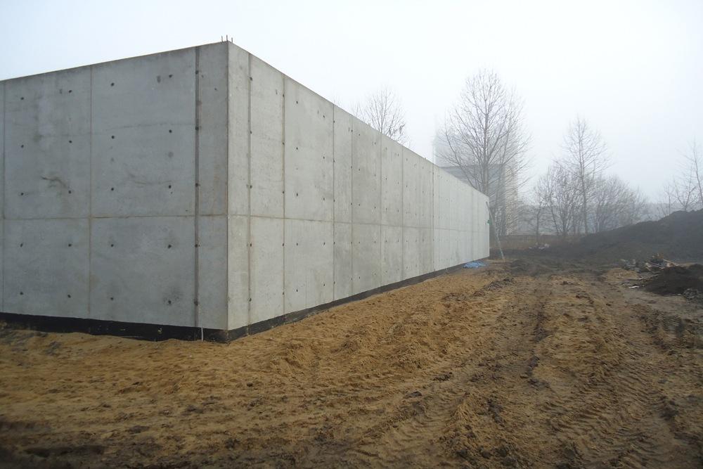 budowa obiektu 1 - hala magazynowa, dla Van Gansewinkel, Kraków, woj. małopolskie