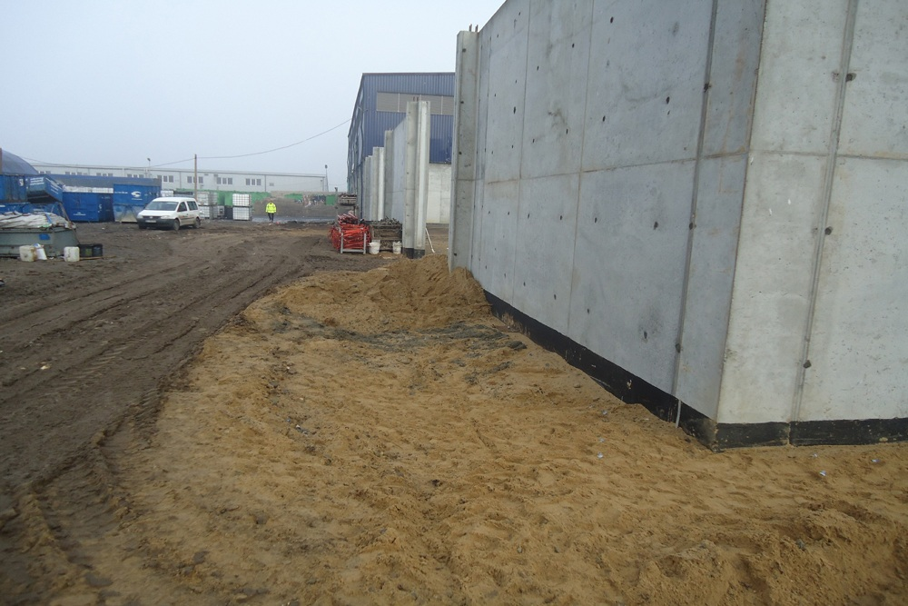budowa obiektu 2 - hala magazynowa, dla Van Gansewinkel, Kraków, woj. małopolskie