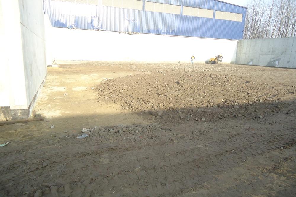 teren pod budowę budynku - hala magazynowa, dla Van Gansewinkel, Kraków, woj. małopolskie