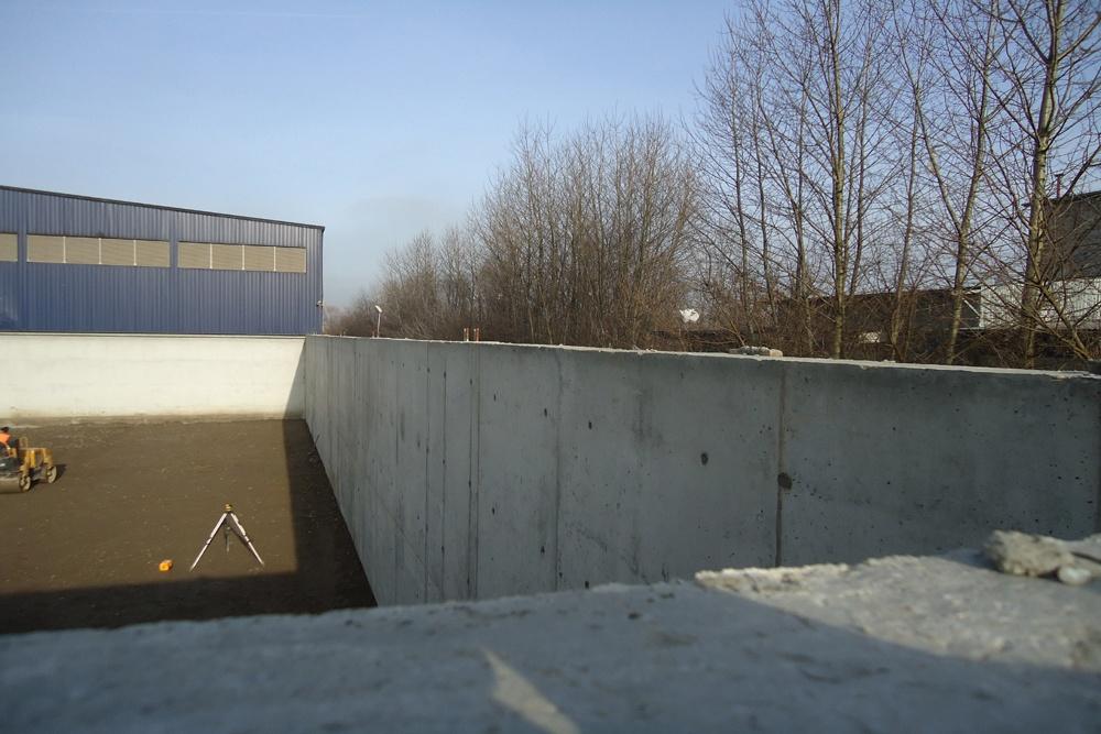 fundamenty pod budowę obiektu - hala magazynowa, dla Van Gansewinkel, Kraków, woj. małopolskie